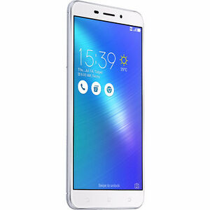 Factory Unlocked ASUS Laser Silver 32GB Dual Sim New Condition