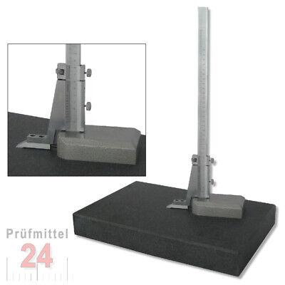 Höhenreisser Höhenanreisser 300 mm + Messplatte Hartgesteinsplatte 400x250 mm