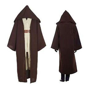 Hot Star Wars Jedi Adult/Kid Cosplay Cape Cloak Hooded Costume Halloween Gift