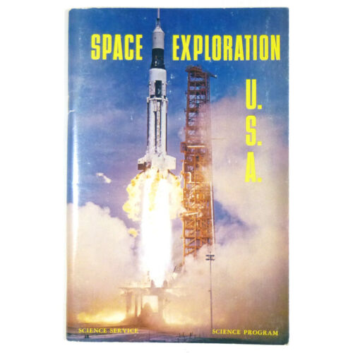 1969 SPACE EXPLORATION, USA by Doubleday Science Service Program COOL!