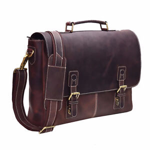 Genuine Vintage Leather Portfolio Bag London Ontario image 2