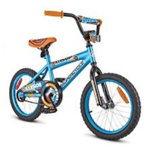 kids brand new bike from Canadian Tire. For 8 years old