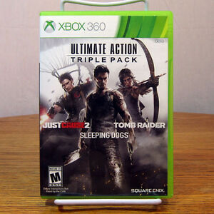 Ultimate Action Triple Pack Microsoft Xbox 360 2015 Tested
