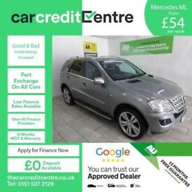 MERCEDES-BENZ M CLASS 3.0 ML350 CDI BLUEEFFICIENCY SPORT ***FROM £54 PER WEEK***
