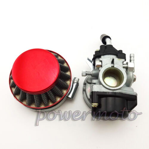 Aftermarket Carburetor Dellorto Style SHA 14mm Carb Air Filter Sprint Colibri