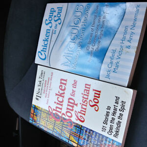 Two. Chicken Soup books