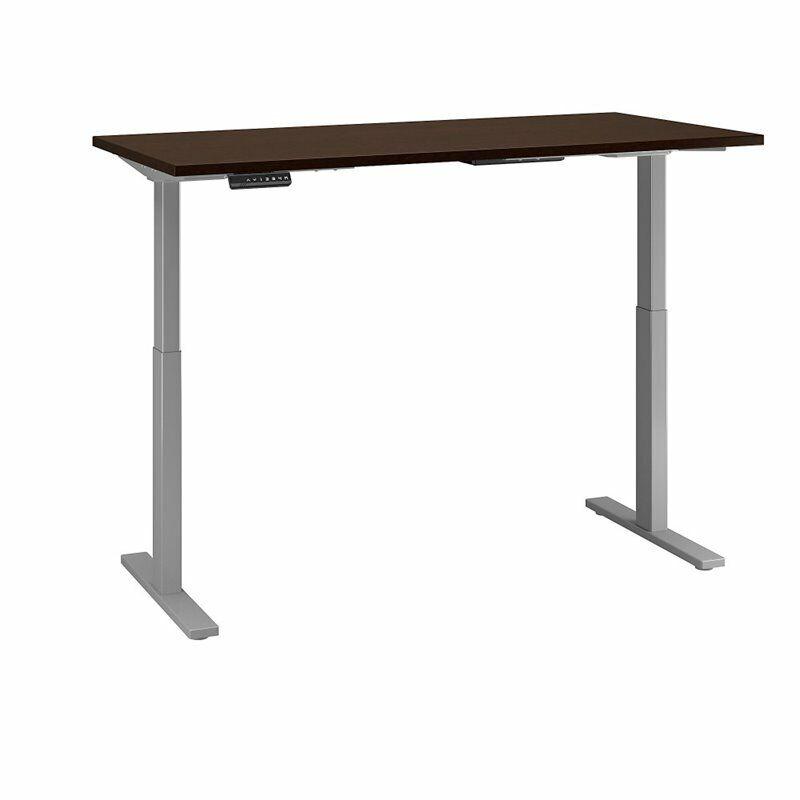 Move 60 Series 72W Height Adjustable Standing Desk in Mocha Cherry