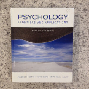 Psychology Frontiers and Applications Third Canadian Edition