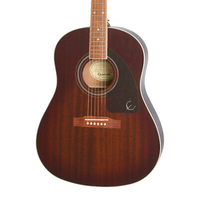 Epiphone AJ-220S Acoustic Guitar, Mahogany Burst (NEW)