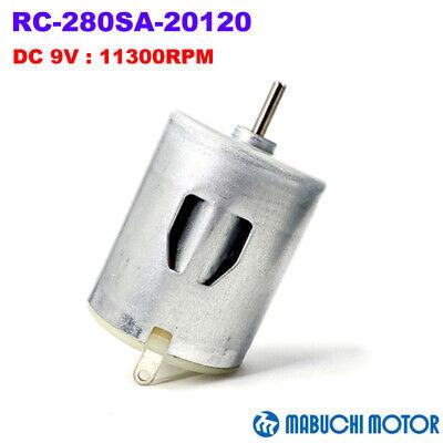 Mabuchi Rc-280sa-20120 Dc 5v-12v 9v 11300rpm High Speed Carbon Brush 24mm Motor