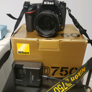 Nikon D750 w 85mm lens low Shutter count