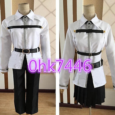 Anime Fate Grand Order Grand Master Fenis Chaldea Cosplay Costume  (Order Cosplay)