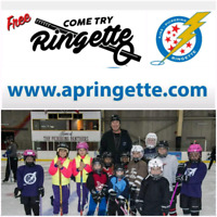COME TRY THE FASTEST GAME ON ICE - RINGETTE!