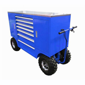 Mobile Tool Box Pit Cart, tool box, Race track