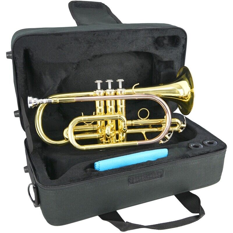 Sonata Student Bb Cornet with Case and Mouthpiece