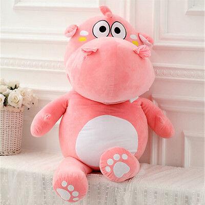 Big Hippo Plush Giant Hippopotamus Sofa Pillow Toy Soft Stuffed Animal Doll Gift ()
