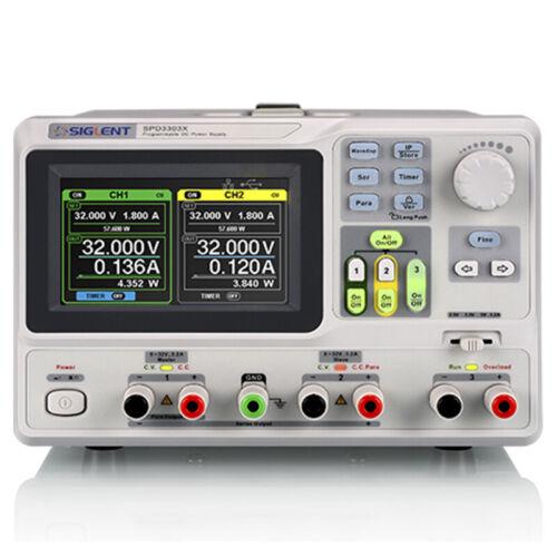 Linear programmable DC power supply SPD3303X-E