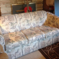 Neutral 3 Seater Good Condition Couch