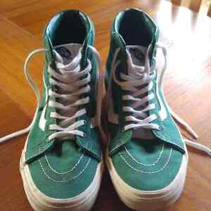 Women's Green Van Shoes for Sale