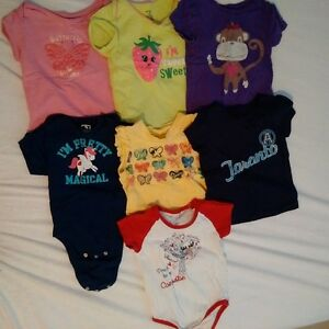 18-24 months Girl's T's lot Kitchener / Waterloo Kitchener Area image 1