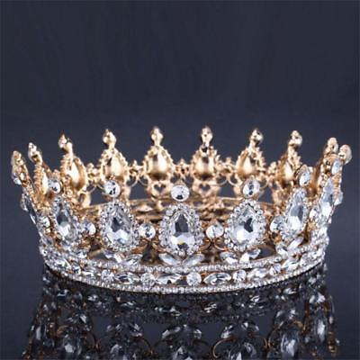 VINTAGE Baroque Queen King Crown | Bridal Wedding Tiara and - Queen Crowns And Tiaras