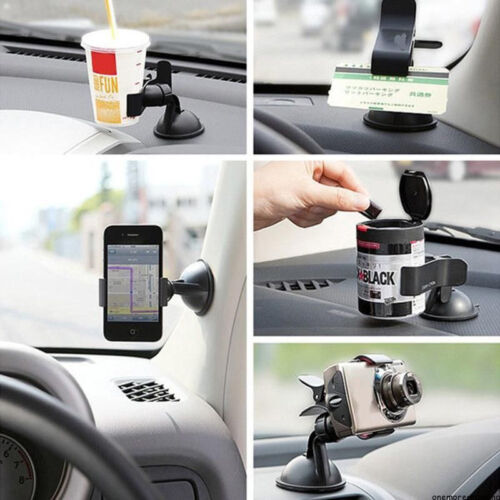 Universal 360° Rotating Car Windshield Mount Holder Stand for Mobile Phones GPS