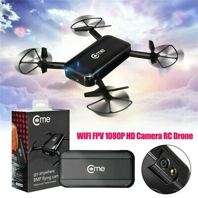 Identify New Hobbico C-me Selfie Drone 8MP Camera 1080p HD Video - Black