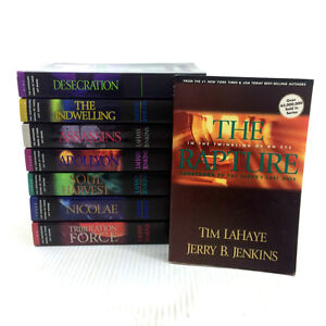Lot 8 Left Behind Books Tim Lahaye Jerry Jenkins Softcover Set
