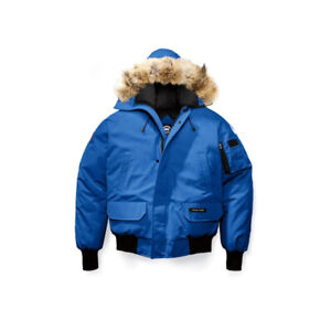 CANADA GOOSE CHILLIWACK BOMBER MEN'S BLUE