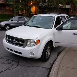Ford escape 2008 v6 4x4