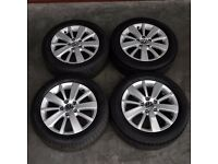 16' VW 10 Spoke Alloy Wheels