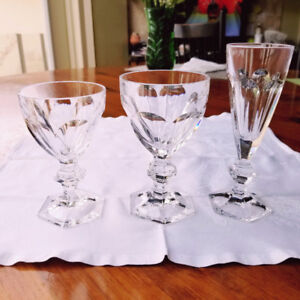 Leaded Crystal Glassware - 30 pieces