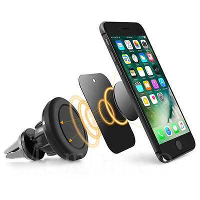 AGPtek Stand Universal Cell Phone GPS Air Vent Magnetic Car Mount Cradle Holder