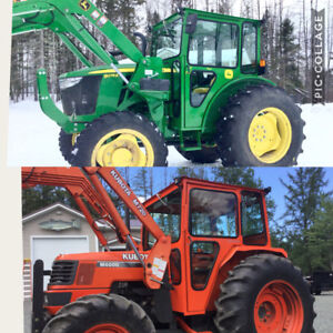 Tractor cabs