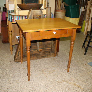 Antique Pine Writing Desk