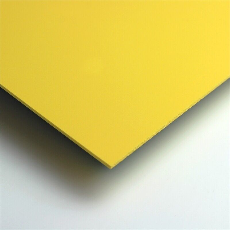 CraftTex Bubbalux Craft Board Daffodil Yellow 2 Sheets Large Size 20 x 30