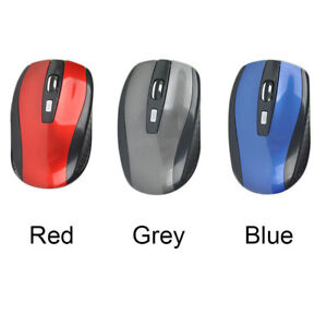 2.4 GHZ Wirless Optical Mouse for PC Laptop