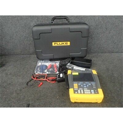 Fluke 190-202 Hand Held Oscilloscope 200mhz 2 Channel No Box