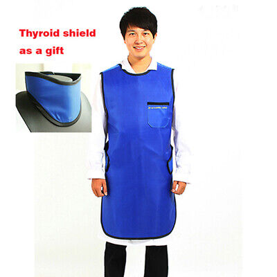 0.35mmpb No-lead Radiation X-ray Protection Apron With Collar Size M
