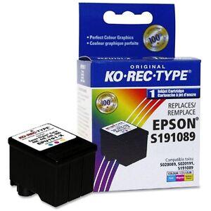 Cartouches d'encre couleur NEUF pour Epson Stylus