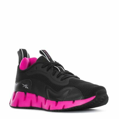 REEBOK ZIG DYNAMICA ATHLETIC TRAINERS SPORT WOMEN SHOES BLACK/PINK SIZE 6 NEW