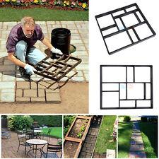 Bricolage Pavé Béton Dalles Chemin Jardin Promenade Brique Moule 45x40cm 60x50cm