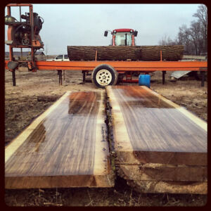WANTED: Freshly Cut Walnut Lumber. No dry time, very wet.