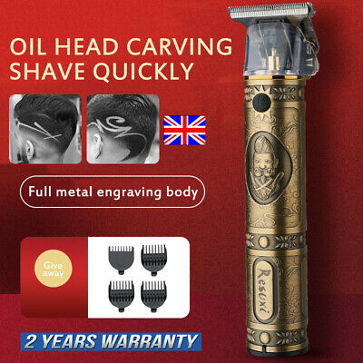 Electric T-Blade Outliner Grooming Cordless Close Cutting Pro Li Trimmer Shaver*
