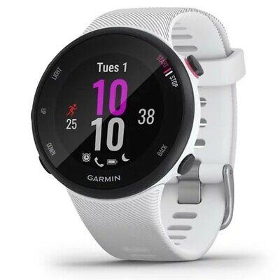 Garmin Forerunner 45S Carcasa 39mm Reloj GPS Running Cardio Integrado, Blanco