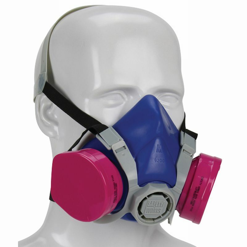 Safety Works PRO Multi-Purpose Half-Mask Respirator