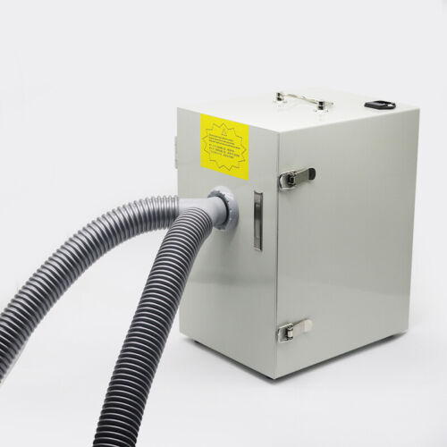 550W Dental Digital Double Impeller Dust Collector Dental Lab Vacuum Cleaner