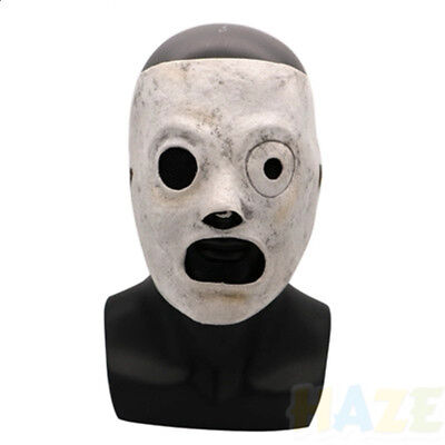 Band Slipknot Maske Corey Taylor Cosplay Latex Maske Halloween Party Kostüm Mask (Slipknot Halloween Masken)