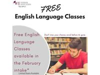 FREE English Language Classes (ESOL/GEL)