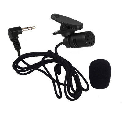 NEW Mini 3.5mm TieLapel Lavalier Clip On Microphone Portable Lecture Teaching -